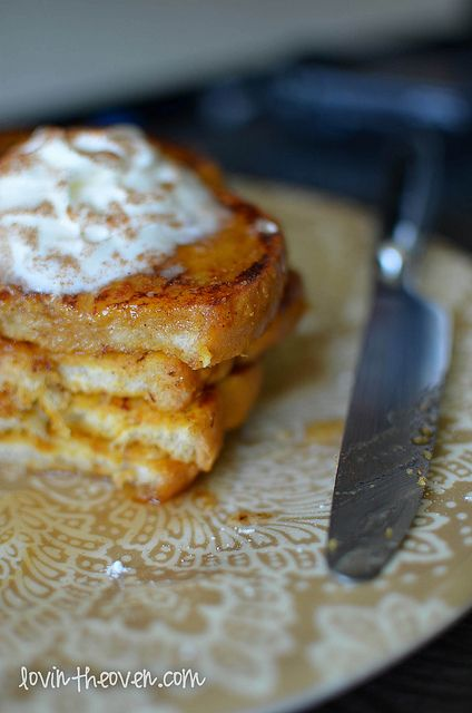 Pumpkin Pie French Toast | Recipe