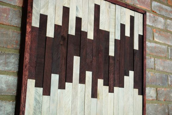 Wall Art With Wood Pallets : Pallet wood wall art