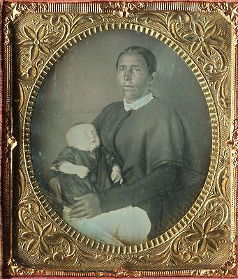 daguerreotype very rare native american indian with