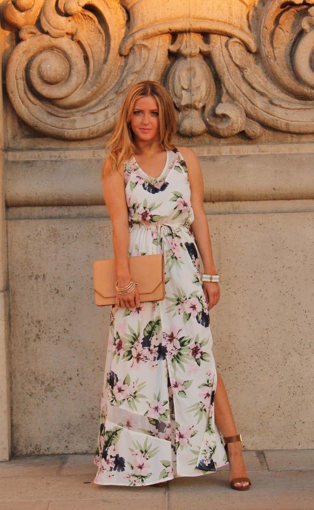 Floral maxi #kelly751 #ramirez701 #dressfloral #Floralmaxi #silkfloralmaxi  www.2dayslook.com
