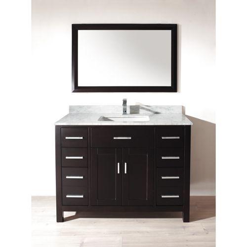 bathroom vanity basement pinterest
