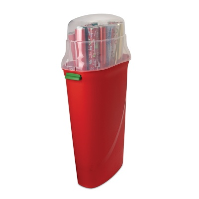 wrapping paper storage container