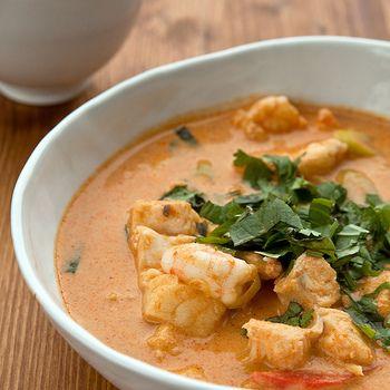 "Hartverwarmende ""Thaise"" viscurry | Fish recipes | Pinterest"