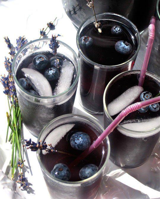 ... Recipe: Blueberry Lavender Vodka Spritzer — The 10-Minute Happy Hour