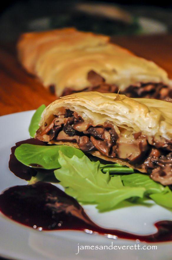 Mushroom Strudel | Eat, Drink, & be Merry! | Pinterest