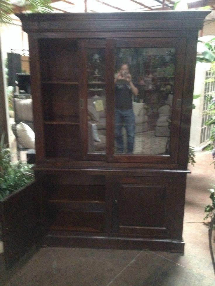 Sliding Door China Cabinet Furniture Pinterest
