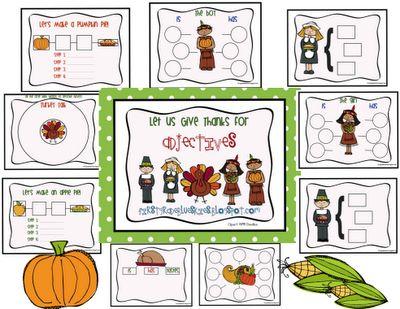 Thanksgiving Thinking Maps