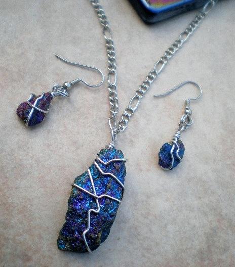 Pin by Isamar Moreno-López on Chalcopyrite Jewelry on my ...
