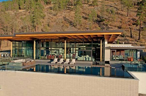 Stunning contemporary home on Okanagan Lake