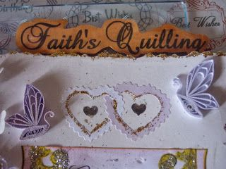 Faith's Quilling : Wedding Greeting Card | My Quillings | Pinterest