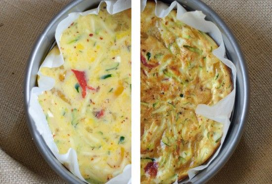 Basic Baked Frittata Recipe — Dishmaps