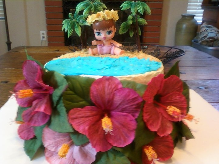 hawaiian baby shower baby girl shower sweets pinterest