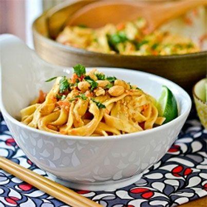 Cold Peanut-Sesame Noodles | Amazing Foods | Pinterest
