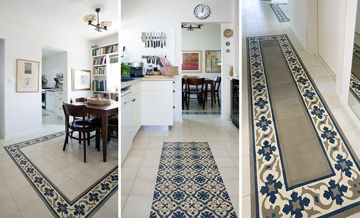 A casa con giulietta cementine una casa a regola d 39 arte - Cementine cucina ...