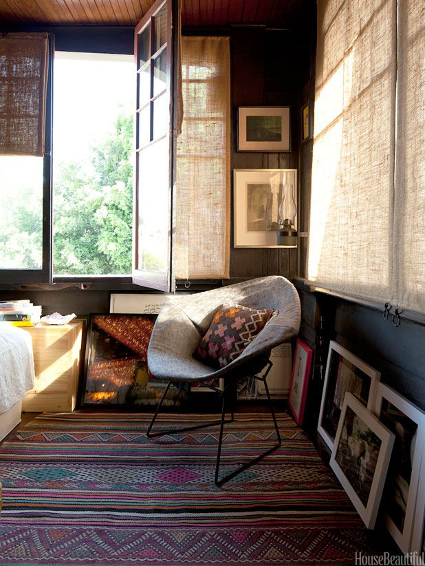 Bohemian Decorating Style - Hippie Homes - House Beautiful