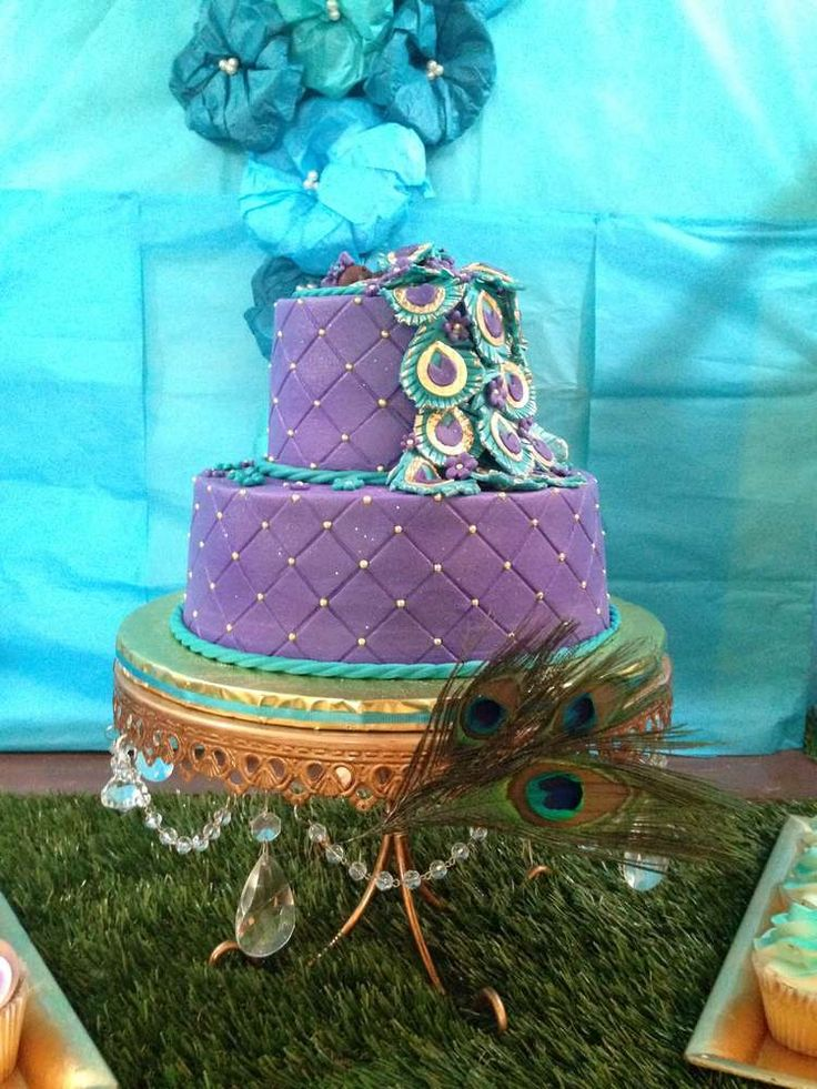kevonti 39 s peacock baby shower baby shower party ideas