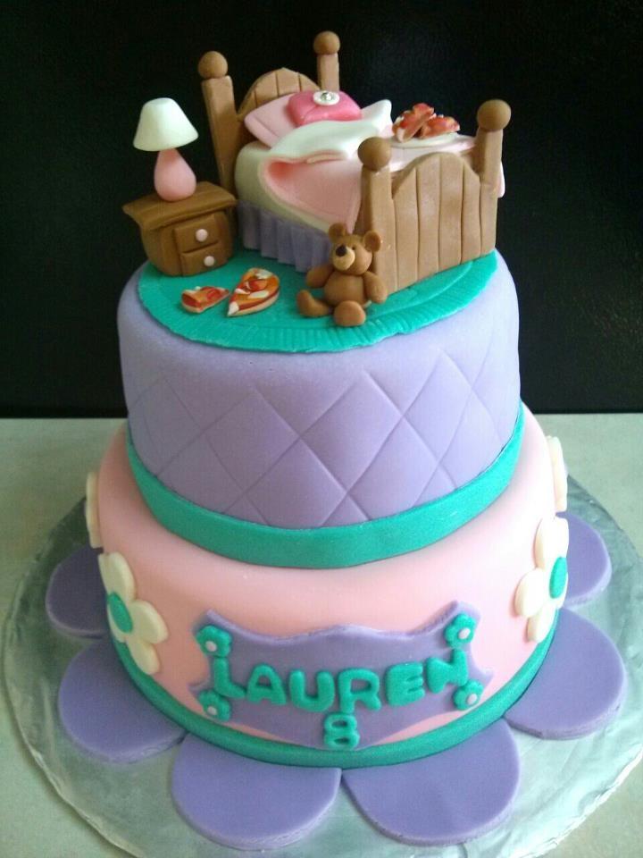 Slumber Party Cake Images : slumber party cake I made! slumber party Pinterest