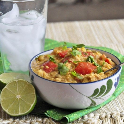 Red Lentil and Coconut Soup | Crockpotn' | Pinterest