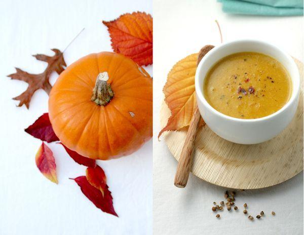 Thai-spiced roasted #pumpkin #soup #recipe