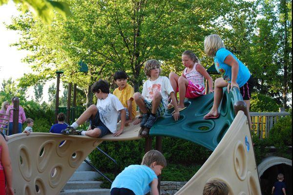 Washington township the homestead park hilliard ohio playground