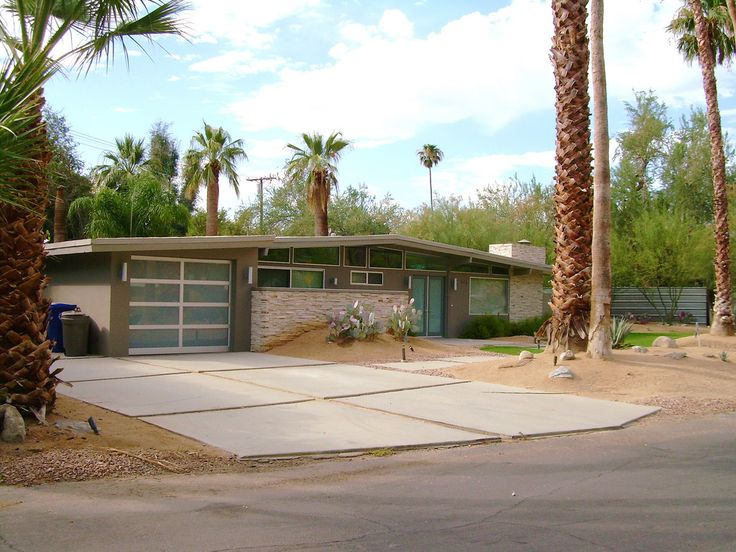 Mid Century Modern House Palm Springs Ranch Style Homes