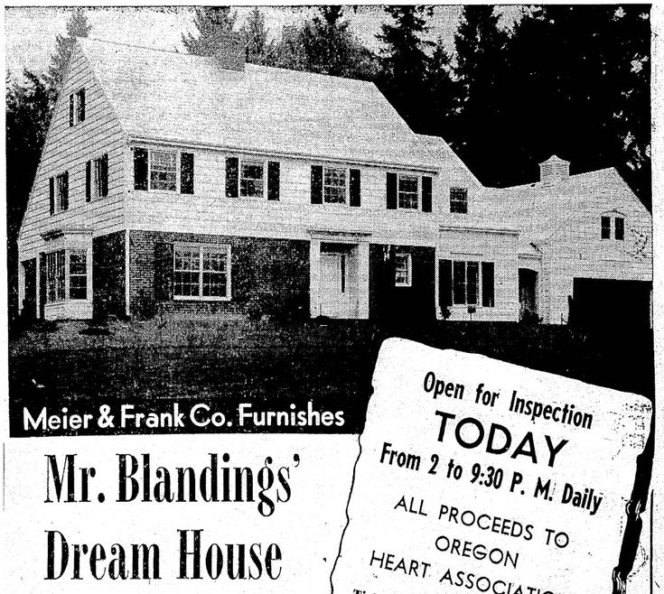 Mr. Blandings' Dream House, 1948