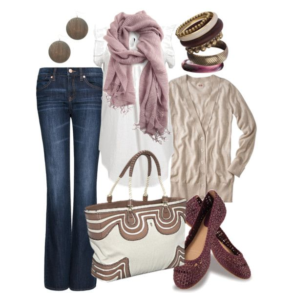 mauve, created by htotheb on Polyvore