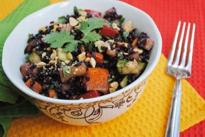 Thai Black Rice Salad | Soup, stews and salads | Pinterest
