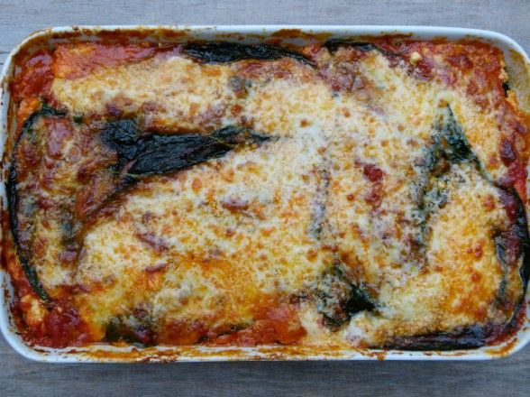 Roasted Vegetable Lasagna - with collard greens and only one layer of ...