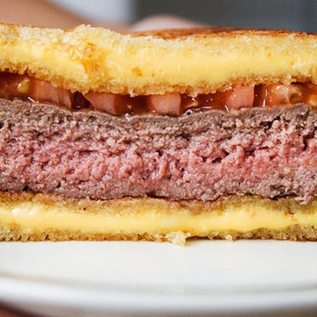 The Hamburger Fatty Melt | Sandwiches * Manwiches | Pinterest