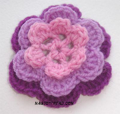 Free Crochet Rose Petal Pattern : free crochet rose scarf pattern Crochet Pinterest