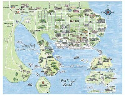 Parris Island Topographic Map