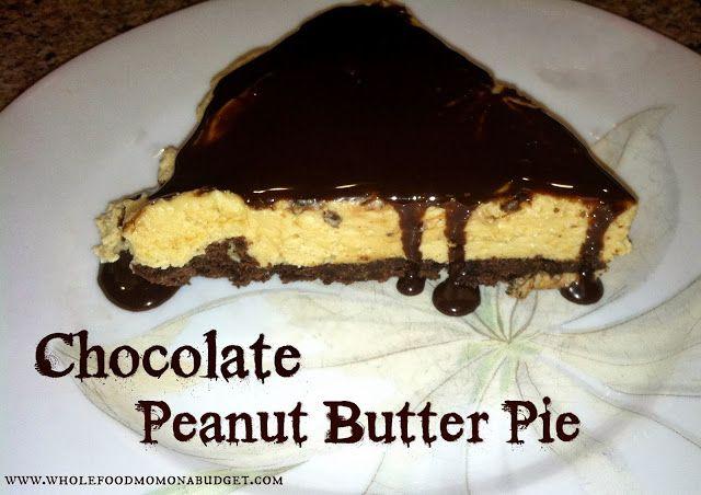 Chocolate Peanut Butter Pie (S) | S Desserts | Pinterest