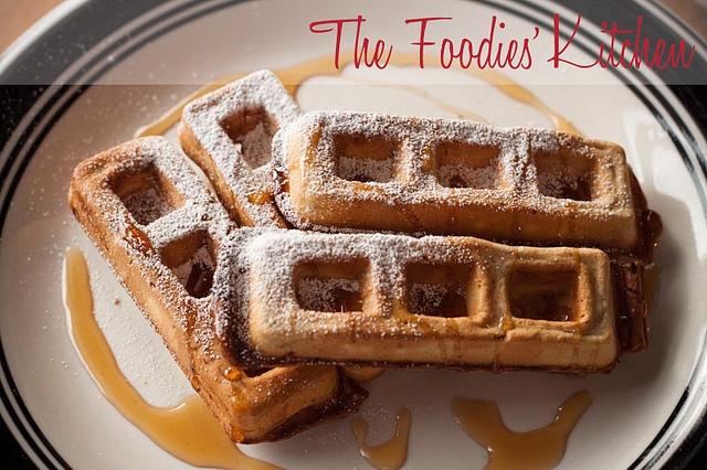Guest Foodie: Jake Van Ness & Chocolate Waffles