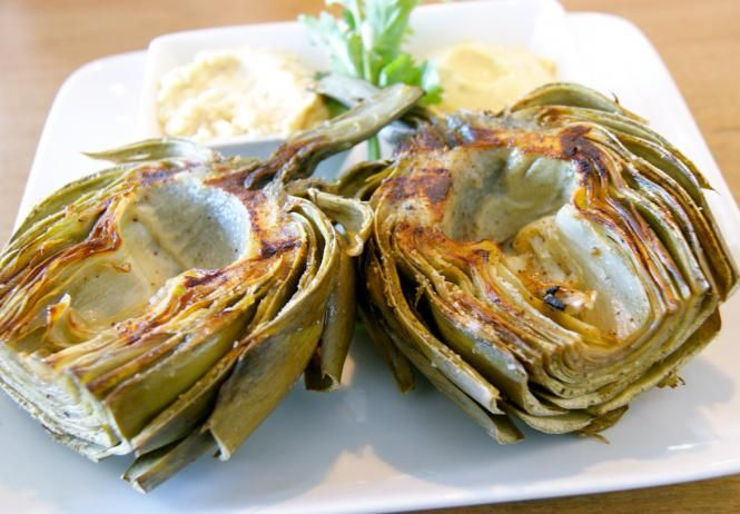 Grilled Artichokes | Food | Pinterest