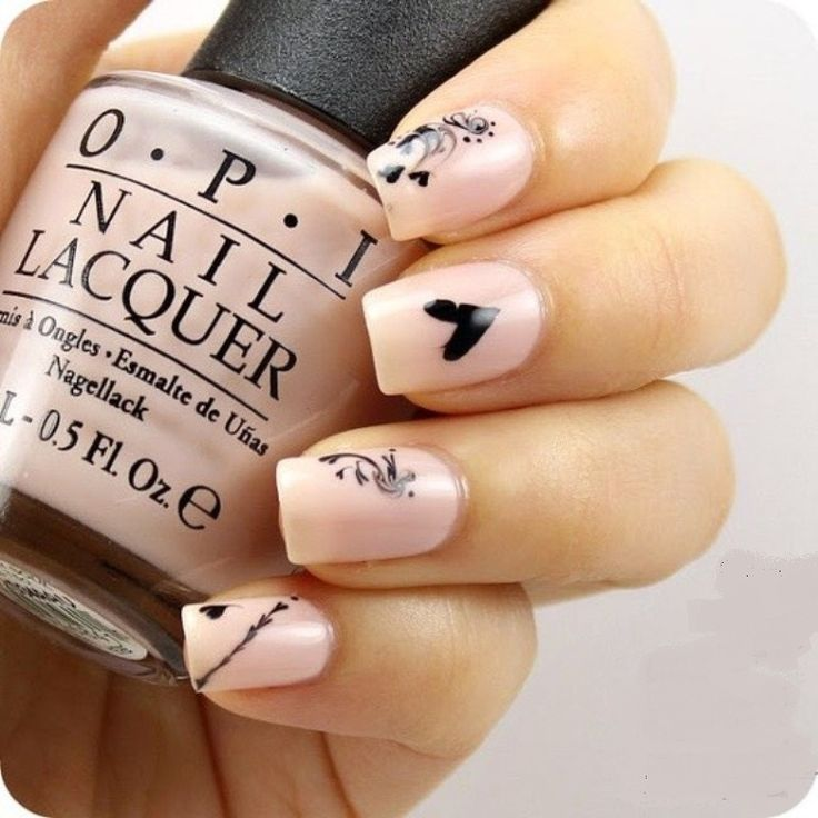 valentines nail designs short nails