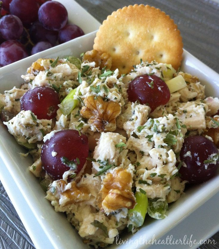 Tarragon Chicken Salad Recipe — Dishmaps
