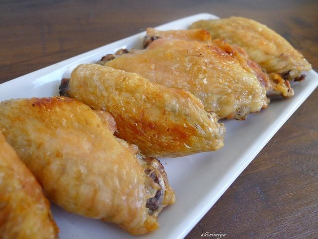 Japanese Salt Grilled Wings (shichimi togarashi optional, but YES).