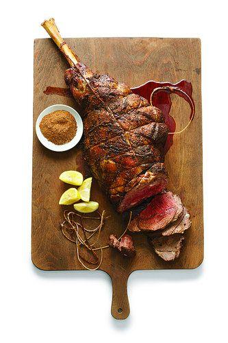 Moroccan Spice-Rubbed Leg of Lamb   Recipe
