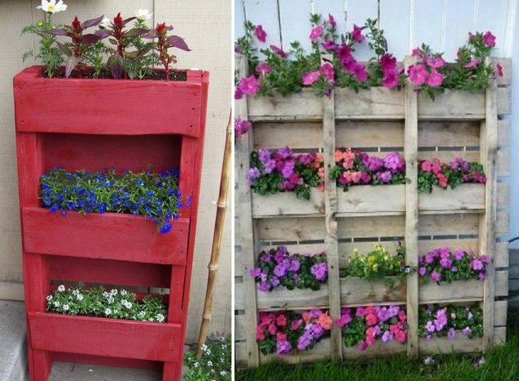 palette récup !  un jardin extraordinaire  Pinterest