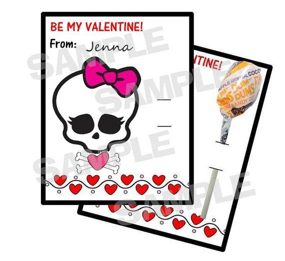 valentine on monster high