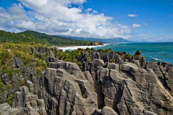 Punakaiki New Zealand  City new picture : Punakaiki Pancake Rocks, New Zealand | Oh the places you'll go... | P ...
