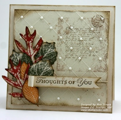 The Stampin' Schach: Fall Leaves for The Paper Players