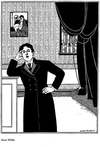 Oscar Wilde by Aubrey Beardsley Art Experience NYC www.artexperiencenyc.com/social_login/?utm_source=pinterest_medium=pins_content=pinterest_pins_campaign=pinterest_initial