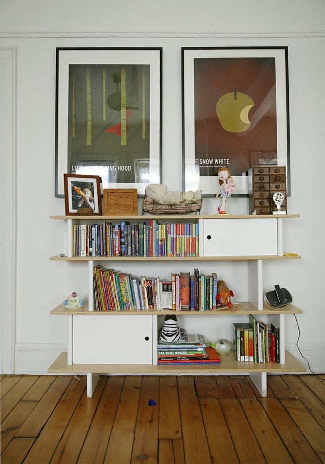 The gallery for cute home libraries for Mini library at home