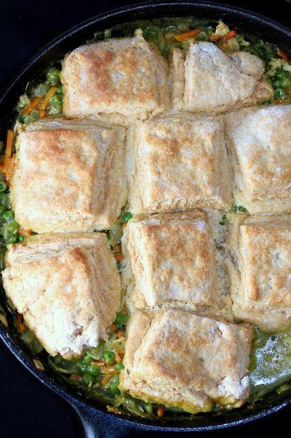 Curry Chicken Pot Pie   Food   Pinterest