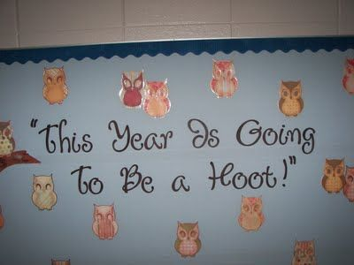 This year is going to be a hoot!