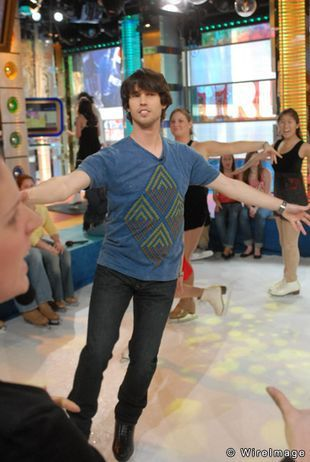 Hilary Duff Hosts MTV s  quot TRL quot  with Guests Will Ferrell  Jon Heder and    Jon Heder And Will Ferrell