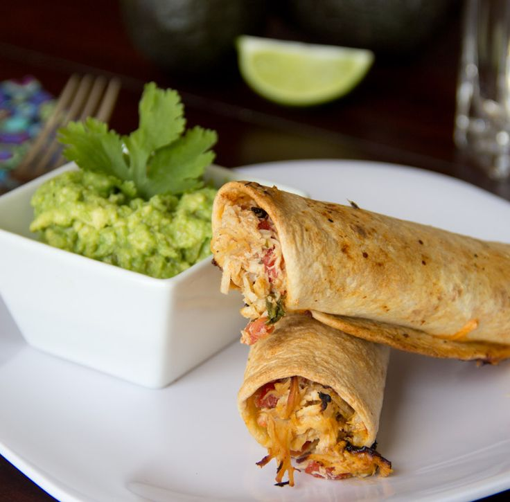 Baked Chicken Taquitos - Absolutely delicious! I would highly ...