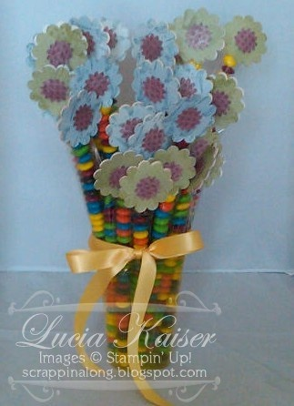 """""""Skinny Bag"""" Gift Bouquet"""